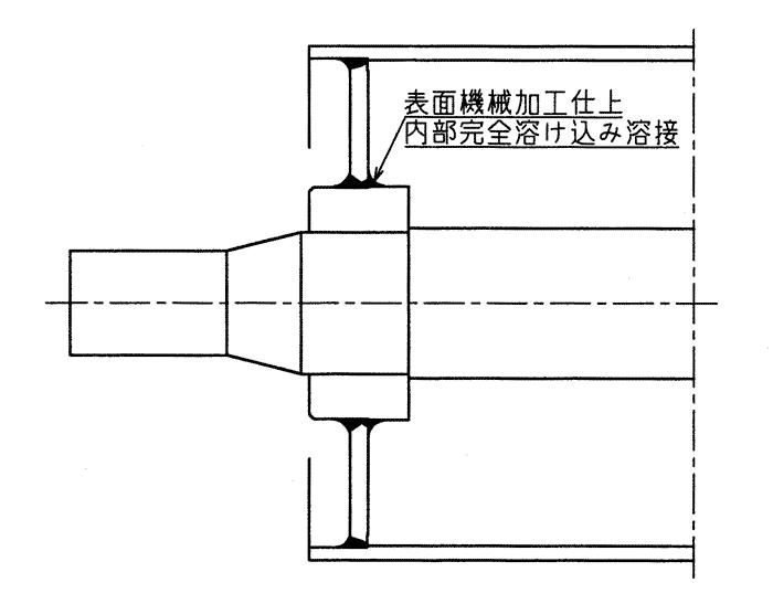 標準構造(一般的な溶接構造)